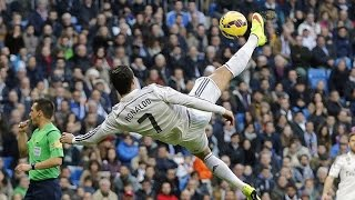 Cristiano Ronaldo - Crazy Bicycle Kicks Show HD (2003-2015)