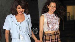 Priyanka Chopra calls Kangana Ranaut a 'Small Actor'   Bollywood Gossip