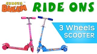 Go Zip Zap Zoom with Chhota Bheem Ride-Ons