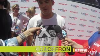#BUZZCLIPS Baywatch SlowMo Marathon - Zac Efron