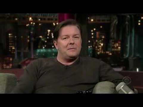 Ricky Gervais on David Letterman 05162007