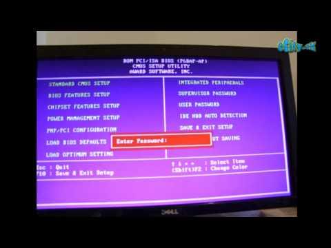 Hacking Bios password Fshijme fjalekalimin e Bios it eCity.Tk