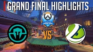 [Immortals vs LG Evil] - Overwatch Carbon Series | Grand Final Esports Highlights