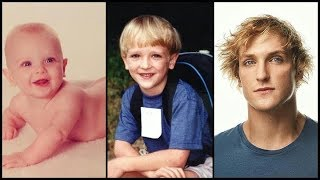 Logan Paul From Baby To Adult