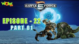 Motu Patlu presents Hot Wheels Battle Force 5 - Gladiators - Episode 22-P1- in Hindi