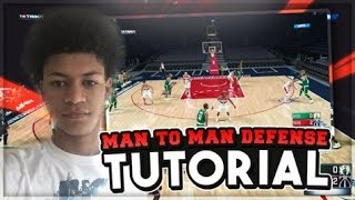 BEST DEFENSIVE SETTINGS FOR MAN TO MAN IN NBA 2K18! HOW TO MAKE YOUR COMPUTER REACT WITH SMART IQ!