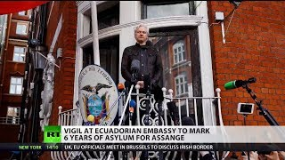 """Campaigner: """"We hope one day Assange will be freed"""""""
