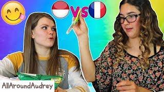 French vs. Indonesian Snacks Showdown! / AllAroundAudrey
