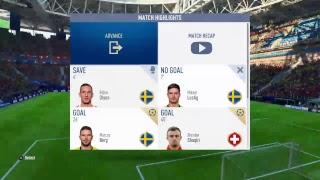 PS4 FIFA 18 Gameplay Sweden vs Switzerland [HD]