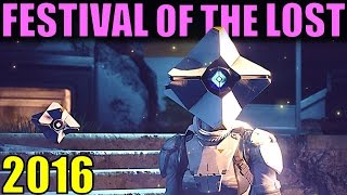 Destiny: Festival of the Lost 2016! | New Info & Changes