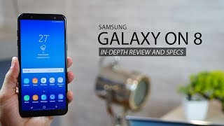 Samsung Galaxy On 8 - Full Review and Specs