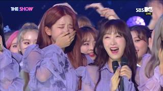 WJSN, 1st win! THE SHOW CHOICE [THE SHOW 181002]