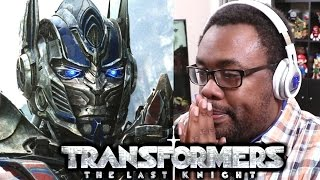 TRANSFORMERS The Last Knight Teaser Trailer Reaction - WTF OPTIMUS PRIME??