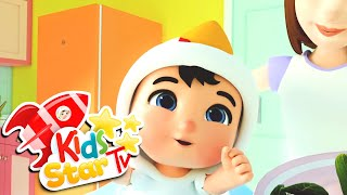 I Love Fruits and Vegetables - Nursery Rhymes and Kids Song - Kids Star TV