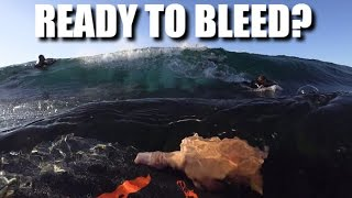 This slab will carve you up   Bodyboarding POV