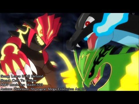 Primal Groudon vs Mega Charizard vs Rayquaza vs Primal Kyogre AMV 720p