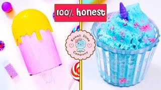 100% HONEST Famous Instagram Slime Shop Review! Kawaii Slime Company Package Unboxing