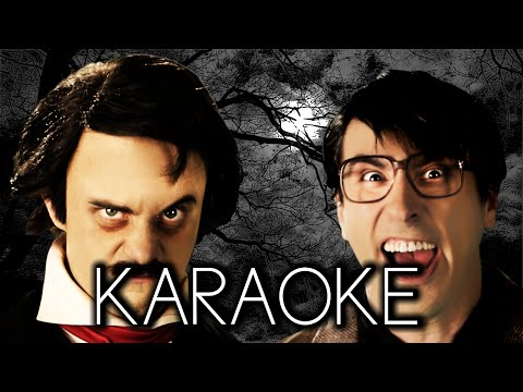 [Karaoke] Stephen King vs Edgar Allan Poe. Epic Rap Battles Of History Season 3