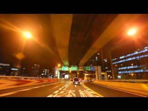 阪神高速1号環状線 夜景ドライブ 2013 Hanshin Expressway Osaka Loop Night Drive Japan