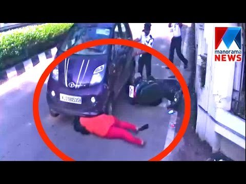 Xxx Mp4 Accident In Front Of Technopark Front Gate Manorama News 3gp Sex