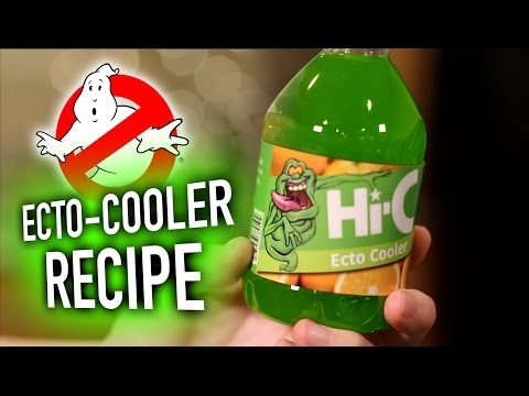 DIY Ecto Cooler Ghostbusters Drink