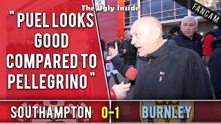 Puel looks good compared to Pellegrino! | Southampton 0-1 Burnley | The Ugly Inside