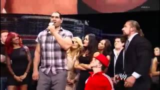 The Great Khali sings Happy Birthday to John Cena 2012