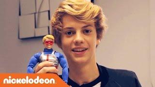 Danger & Thunder | Jace Norman Unboxes Kid Danger Action Figure | Nick