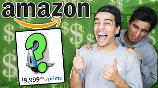 Buying 100% RANDOM Amazon items WITH FRIENDS MONEY! (MUST BUY EVERYTHING)