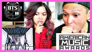 BTS AMERICAN MUSIC AWARDS PERFORMANCE REACTION