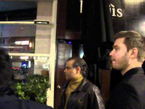 MANSOOR AIJAZ AT LONDON NIGHT CLUB WITH INDIAN FRIENDS.Part-1