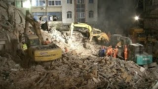 Parents Die Protecting Daughter from Building Collapse