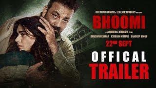 Bhoomi Trailer Official Sanjay Dutt Aditi Rao Hydari Releasing 22 September