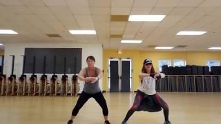 Get Low - Hips/ Butt/ Legs Routine Zumba Fitness Choreo