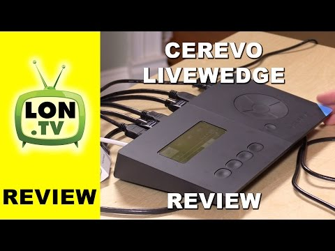 Cerevo Livewedge Inexpensive HDMI Video Switcher Review - Compare to Blackmagic ATEM