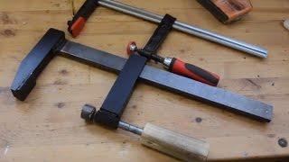 Building a Heavy Duty Bar Clamp