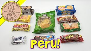 Try Treats Peru Candy & Food Monthly Subscription Snack Box
