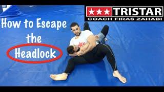 How to Fight Wrestling with Jiu-Jitsu: Headlock Escape with Coach Firas Zahabi.
