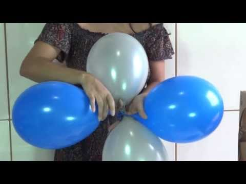 Dica para as mamães que querem fazer a festa do seu filho Como fazer arco de balões