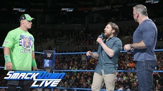 John Cena asks to be added to the WWE Title Match at WWE Fastlane: SmackDown LIVE, Feb. 27, 2018