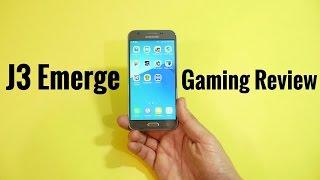 Samsung Galaxy J3 Emerge Gaming Review!