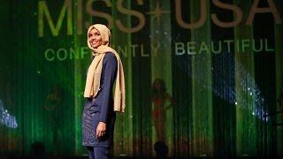 Muslimah Pertama yang Berhijab di Kontes Kecantikan Amerika