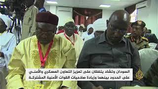 اتفاق سوداني تشادي لتعزيز أمن الحدود