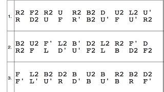 How to Read Rubik's Cube Algorithms!