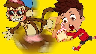 BANANA MONKEYS cool | Funny Cartoons for Children #48 | Funny Videos | Funny Momment | SM Cartoon TV