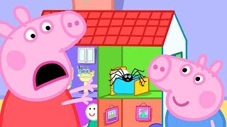 Peppa Pig Episodes - Playtime with Peppa and George! - Cartoons for Children