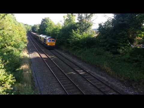 66762 GBRF AT HIGH WYCOMBE TO CALVERT