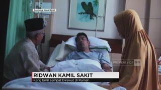 Wali Kota Bandung, Ridwan Kamil Sakit