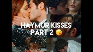 Hayat and Murat Kiss Scenes Part 2