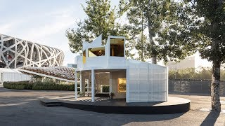 Penda and MINI Living's Urban Cabin draws from Beijing hutongs | Architecture | Dezeen
